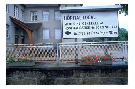 visuel hopital local